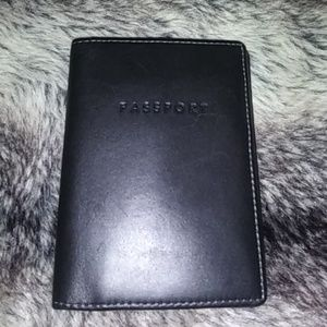 Coach passport wallet